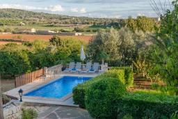 Вид. Испания, Кампанет : Очаровательный загородный дом с бассейном и садом с барбекю, 4 спальни, 2 ванные комнаты, парковка, Wi-Fi