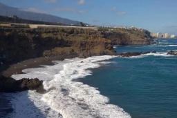 Пляж Больюльо в Пуэрто де ла Крузе