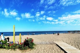 Пляж Торребланка в Малаге