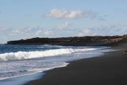 Пляж Ханубио в Лансароте