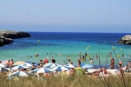 Пляж Кала-Бланка в Менорке