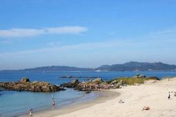 Пляж Самиль в Виго