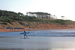 Пляж Сомо в Сантандер