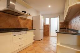 Кухня. Испания, Пуэрто Банус : Изумительные апартаменты расположены в городе Марбелья. К услугам гостей открытый бассейн, общий лаундж, сад и бесплатный Wi-Fi.