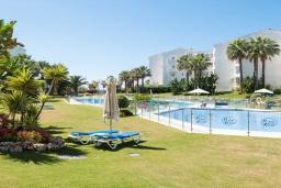 Территория. Испания, Пуэрто Банус : Изумительные апартаменты расположены в городе Марбелья. К услугам гостей открытый бассейн, общий лаундж, сад и бесплатный Wi-Fi.