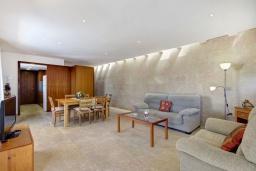 Гостиная / Столовая. Испания, Менорка : Вилла расположена в районе для семейного отдыха. Фантастический бассейн, зона барбекю, крытая терраса, 3 спальни, приспособленный для людей с ограниченными возможностями