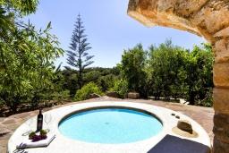 Развлечения и отдых на вилле. Испания, Менорка : Красивая и милая вилла с частным бассейном и джакузи и открытый сад, а также 3 спальни с кондиционерами
