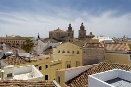 Вид. Испания, Менорка : Дом в центре, идеален для прогулкам по улицам города, музеям, магазинам, 4 спальни, wi-fi