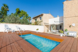 Вид на виллу/дом снаружи. Испания, Кан-Пикафорт : Светлая вилла с частным бассейном в Санта-Мария-дель-Ками