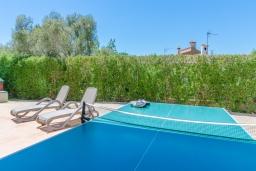 Развлечения и отдых на вилле. Испания, Кала-Махор : Роскошное шале с частным бассейном и террасой недалеко от Пальмы