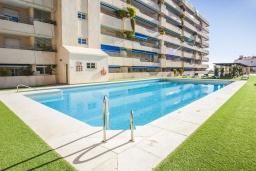 Территория. Испания, Пуэрто Банус : Уютные апартаменты расположены рядом с пляжем в городе Марбелья. К услугам гостей имеется открытый бассейн, фитнес-центр, сад и бесплатный Wi-Fi.