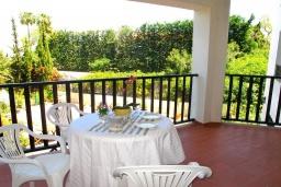 Терраса. Испания, Марбелья : Апартаменты с собственной террасой и садом,3 спальни, 2 ванные комнаты, частная терраса