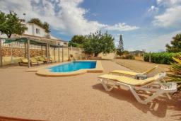 Зона отдыха у бассейна. Испания, Кальпе : Современная вилла расположенная в тихом месте в 5 минутах езды от пляжа, 4 спальни, 2 ванные комнаты, wi-fi, парковка