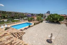 Территория. Испания, Кальпе : Впечатляющая вилла для семейного отдыха всего в нескольких минутах ходьбы от пляжа Кальпе, 7 спален, 5 ванных комнат, парковка на 5 машин, бассейн