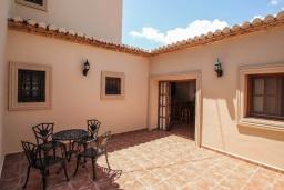 Патио. Испания, Кальпе : Впечатляющая вилла для семейного отдыха всего в нескольких минутах ходьбы от пляжа Кальпе, 7 спален, 5 ванных комнат, парковка на 5 машин, бассейн