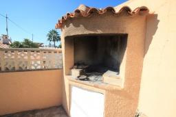 Летняя кухня. Испания, Кальпе : Уютная вилла с частным бассейном рядом с пляжем, 3 спальни, 2 ванные комнаты, WIFI, кондиционер