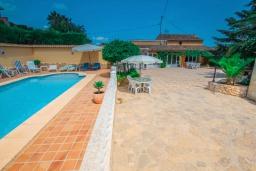Бассейн. Испания, Теулада : Отличная вилла в средиземноморском стиле в спокойном районе, 4 спальни, 2 ванные комнаты, частный бассейн, гараж