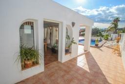 Патио. Испания, Мораира : Очаровательная вилла в испанском стиле,  в 1,5 км от пляжа и центра Морайры, 4 спальни, 3 ванные комнаты, частный бассейн, барбекю
