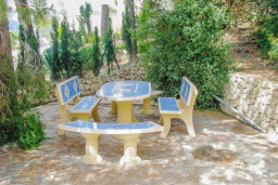 Беседка. Испания, Бенисса : Красивая вилла для отдыха в Бениссе, частный бассейн, 2 спальни, ванная комната, теннисные корты в 10 мин. ходьбы