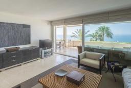 Кухня. Испания, Эстепона : Фантастические апартаменты с 3 спальнями расположены на южной стороне с панорамным видом на море. Включают общий бассейн и зеленые зоны.