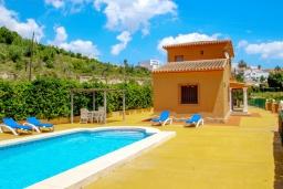 Бассейн. Испания, Бенитачель : Современный небольшой уютный дом для отдыха, 2 спальни, 2 ванные комнаты, частный бассейн