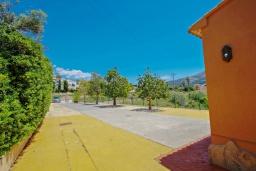 Территория. Испания, Бенитачель : Современный небольшой уютный дом для отдыха, 2 спальни, 2 ванные комнаты, частный бассейн