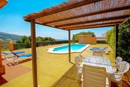 Беседка. Испания, Бенитачель : Современный небольшой уютный дом для отдыха, 2 спальни, 2 ванные комнаты, частный бассейн