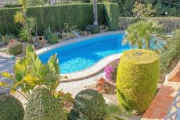 Парковка. Испания, Бенитачель : Замечательная вилла с красивым садом во дворе, панорамным видом, частный бассейн, 4 спальни, 4 ванные комнаты, WIFI