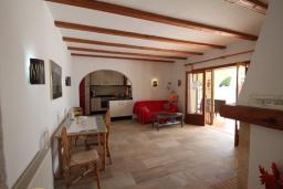 Обеденная зона. Испания, Бенисса : Изысканный дом для отдыха в спокойном районе центра города, 2 спальни, ванная комната, частный бассейн, парковка на 2 авто