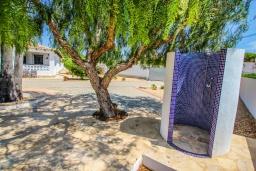Патио. Испания, Мораира : Одноэтажная вилла с панорамным видом и частным бассейном, 3 спальни,ванная комната, стоянка на 3 машины,WIFI, кондеционер