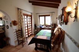 Обеденная зона. Испания, Мораира : Вилла в средиземноморском стиле с видом на море с частным бассейном и парковкой на 3 авто, 3 спальни, 2 ванные комнаты, WIFI