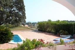 Вид. Испания, Мораира : Вилла в средиземноморском стиле с видом на море с частным бассейном и парковкой на 3 авто, 3 спальни, 2 ванные комнаты, WIFI