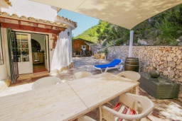 Беседка. Испания, Бенитачель : Двухэтажная вилла с частным бассейном расположенная между Морайрой и Хавеей, 3 спальни, 3 ванные комнаты, WIFI