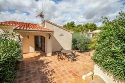 Патио. Испания, Эль-Портет : Красивая вилла с фантастическим видом на район Эль-Портет, с частным бассейном, 2 спальни, 2 ванные комнаты, WIFI