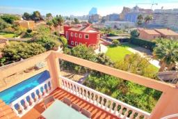 Вид. Испания, Кальпе : Хорошая удобная вилла с отличным расположением, 4 спальни, 2 ванные комнаты, частный бассейн, WIFI