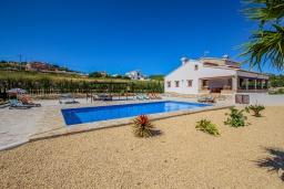 Вид на виллу/дом снаружи. Испания, Теулада : Впечатляющая усадьба с прекрасным видом на сельскую местность и частным бассейном, 4 спальни, 3 ванные комнаты, барбекю