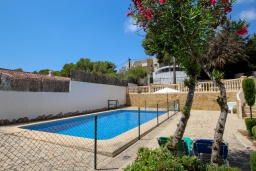 Бассейн. Испания, Мораира : Небольшая красивая вилла расположенная недалеко от центра Морайры с видом на море и частным бассейном, 2 спальни, 1 ванная комната
