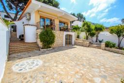 Вход. Испания, Эль-Портет : Ухоженная вилла в тихом месте, частный бассейн, 3 спальни, ванная комната