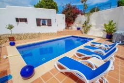 Бассейн. Испания, Бенисса : Эксклюзивная вилла расположенная в прекрасном месте с видом на море и горы, частный бассейн, 2 спальни, 2 ванные комнаты, 2 гостиные