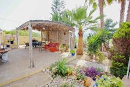Беседка. Испания, Теулада : Прекрасная вилла с панорамным видом на холмы и горы, частный бассейн, 3 спальни, 2 ванные комнаты, WiFi, парковка