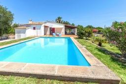 Парковка. Испания, Польенса : Вилла дом для отпуска с кондиционером, рассчитан на проживание до 4 человек с 2 спальнями, 1 ванной комнатой и собственным бассейном.