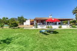 Территория. Испания, Польенса : Вилла дом для отпуска с кондиционером, рассчитан на проживание до 4 человек с 2 спальнями, 1 ванной комнатой и собственным бассейном.