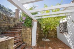 Зелёный сад. Испания, Коин : Прекрасная вилла для 7 человек, с 3-я спальнями и большим бассейном