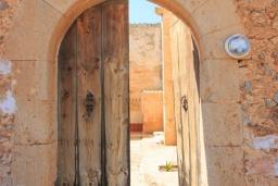 Вход. Испания, Са Рапита : Вилла в деревенском стиле на испанском острове Майорка, с 6 спальнями, 3 ванными комнатами и большим частным бассейном