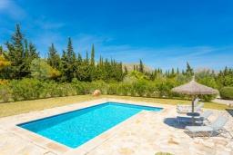 Бассейн. Испания, Польенса : Уединенная вилла с красивыми видами на горы  и сады,  с 3 спальнями, 2 ванными комнатами и собственным бассейном.
