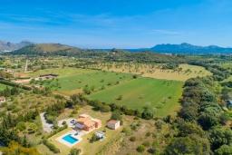 Вид на виллу/дом снаружи. Испания, Польенса : Уединенная вилла с красивыми видами на горы  и сады,  с 3 спальнями, 2 ванными комнатами и собственным бассейном.