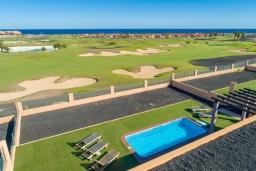 Вид. Испания, Фуэртевентура : Вилла для отдыха с невероятными видами на море и поле для гольфа, с 3 спальнями, 3 ванными комнатами, а также отдельным бассейном с подогревом