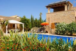 Зона отдыха у бассейна. Испания, Феланикс : Атмосферная вилла для отдыха на Майорке, с 3 спальнями, 3 ванными комнатами и собственным бассейном.