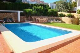 Бассейн. Испания, Пего : Вилла с панорамным видом на море, гостиной, 2 спальнями, бассейном, Wi-Fi, кондиционерами во всех спальнях