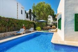 Бассейн. Испания, Кала-д'Ор : Красивая вилла с садом и частным бассейном, и вместимостью до 10 человек с 5 спальнями, 3 ванными комнатами